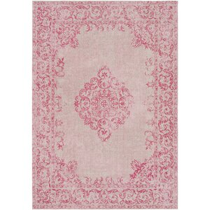 Payne Hand-Woven Bright Pink/Blush Area Rug