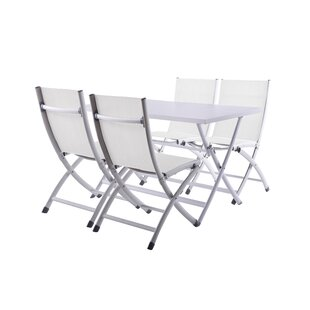 Bugarin 5 Piece Dining Set by Ebern Designs New Design