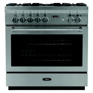 Professional 36 Free-standing Dual Fuel Range