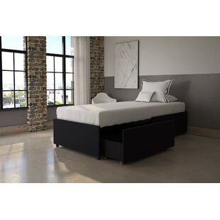 Glendale Twin Platform Bed with Mattress and Drawers