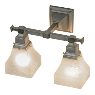 Meyda Tiffany Bungalow Swirl 2-Light Vanity Light