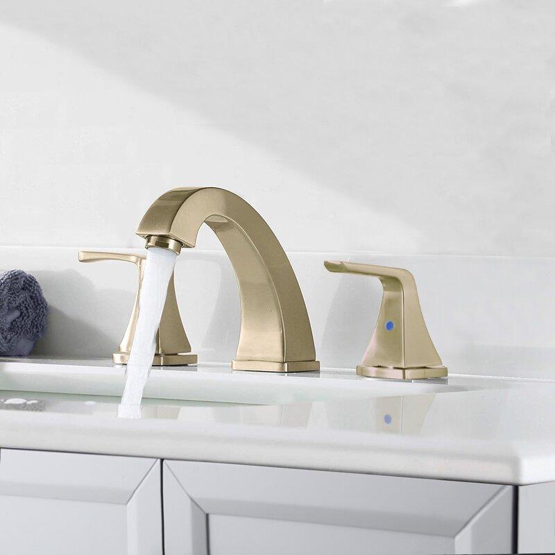 Bathlet Widespread Bathroom Faucet With Drain Assembly Wayfair