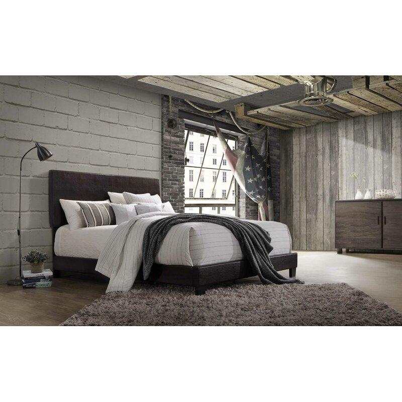 Wrought Studio Laga Upholstered Standard Bed Reviews Wayfair