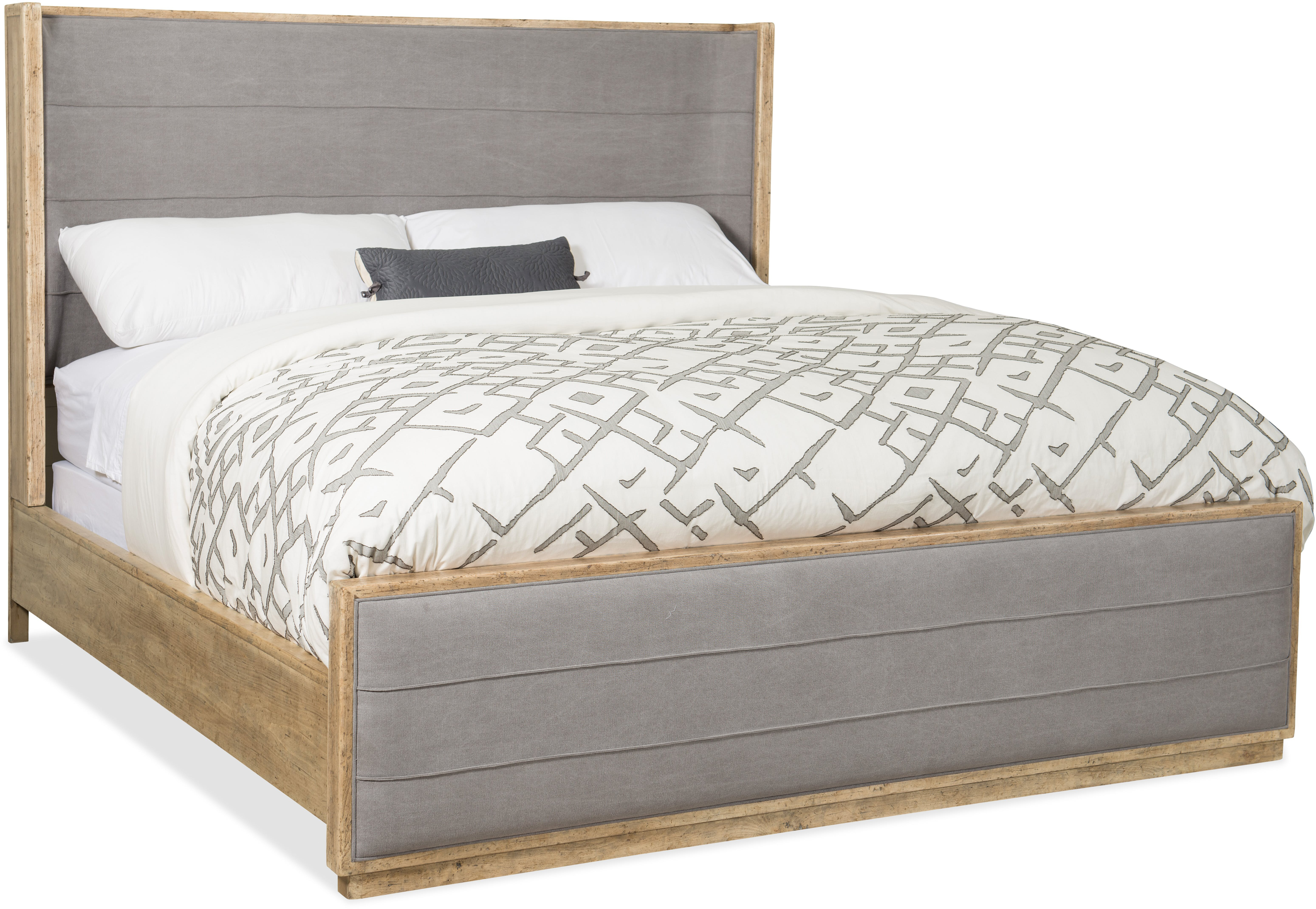 - Hooker Furniture Urban Elevation King Upholstered Sleigh Bed Wayfair