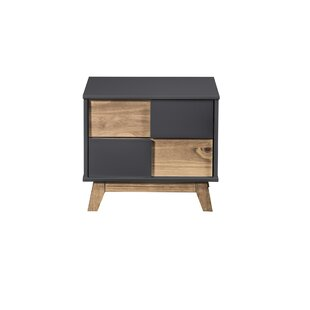 Taveras 2 Drawer Nightstand by Union Rustic