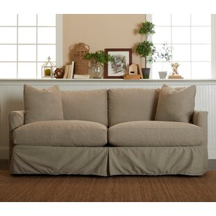 Modern & Contemporary 3 Cushion Sofa Slipcovers | AllModern