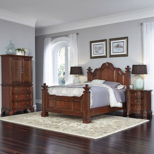 Home Styles Santiago Platform 3 Piece Bedroom Set