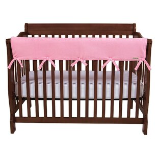 Top Reviews 51 Pink Fleece Front Crib Rail Cover ByTrend Lab