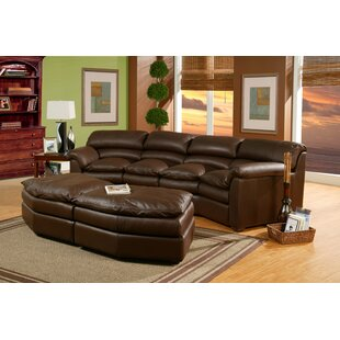 Shopping for Canyon Leather Conversation Sofa with Ottoman by Omnia Leather Reviews (2019) & Buyer's Guide