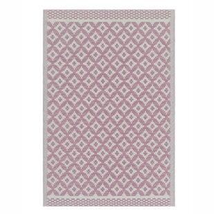 Kyal Flatweave Pink Rug By Sol 72 Outdoor