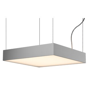 Square/Rectangle1-Light Pendant by Molto Luce