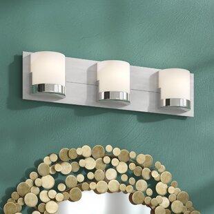 Price comparison Blondell 3-Light Bath Bar By Latitude Run