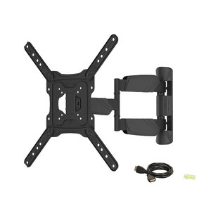 Tilt Swivel Articulating Extending Arm Wall Mount for 47