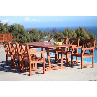 Breakwater Bay Blythe 7 Piece Dining Set