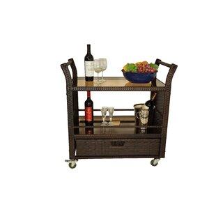 Horrell Bar Serving Cart by World Menagerie