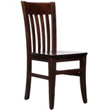 Henson Solid Wood Dining Chair (Set of 2) by Breakwater Bay