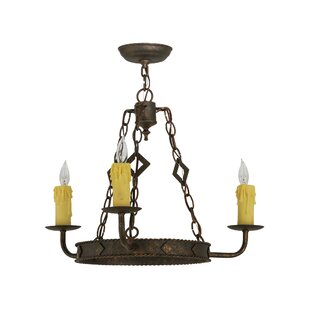 Meyda Tiffany Elvita 3-Light Chandelier