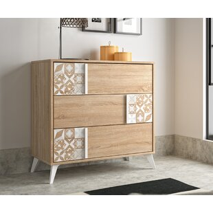 Dobbins 3 Drawer Dresser by Ebern Designs