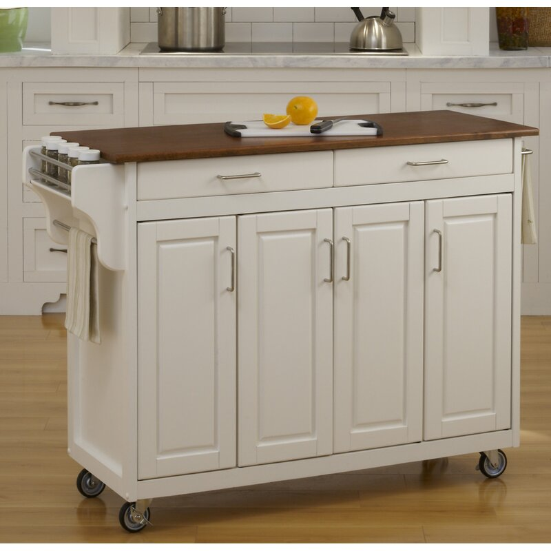 August Grove Regiene Kitchen Island