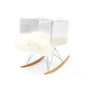 Brayden Studio Uresti Fluffy Rocking Chair