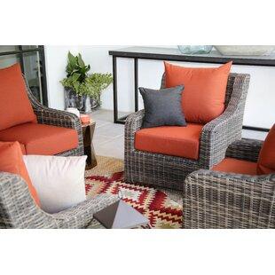 Valentin Patio Chair with Sunbrella Cushions