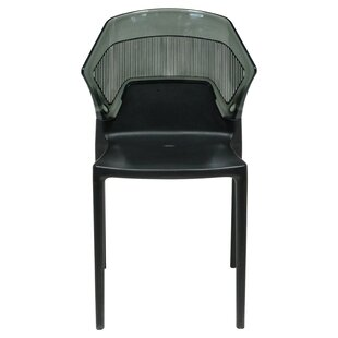 Shaul Two-Tone Stacking Patio Dining Chai..