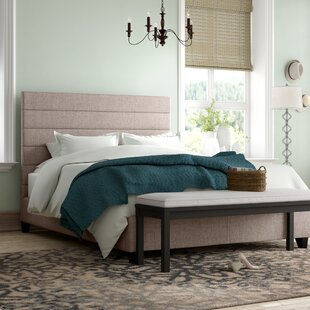 Teter Upholstered Panel Bed by Charlton Home
