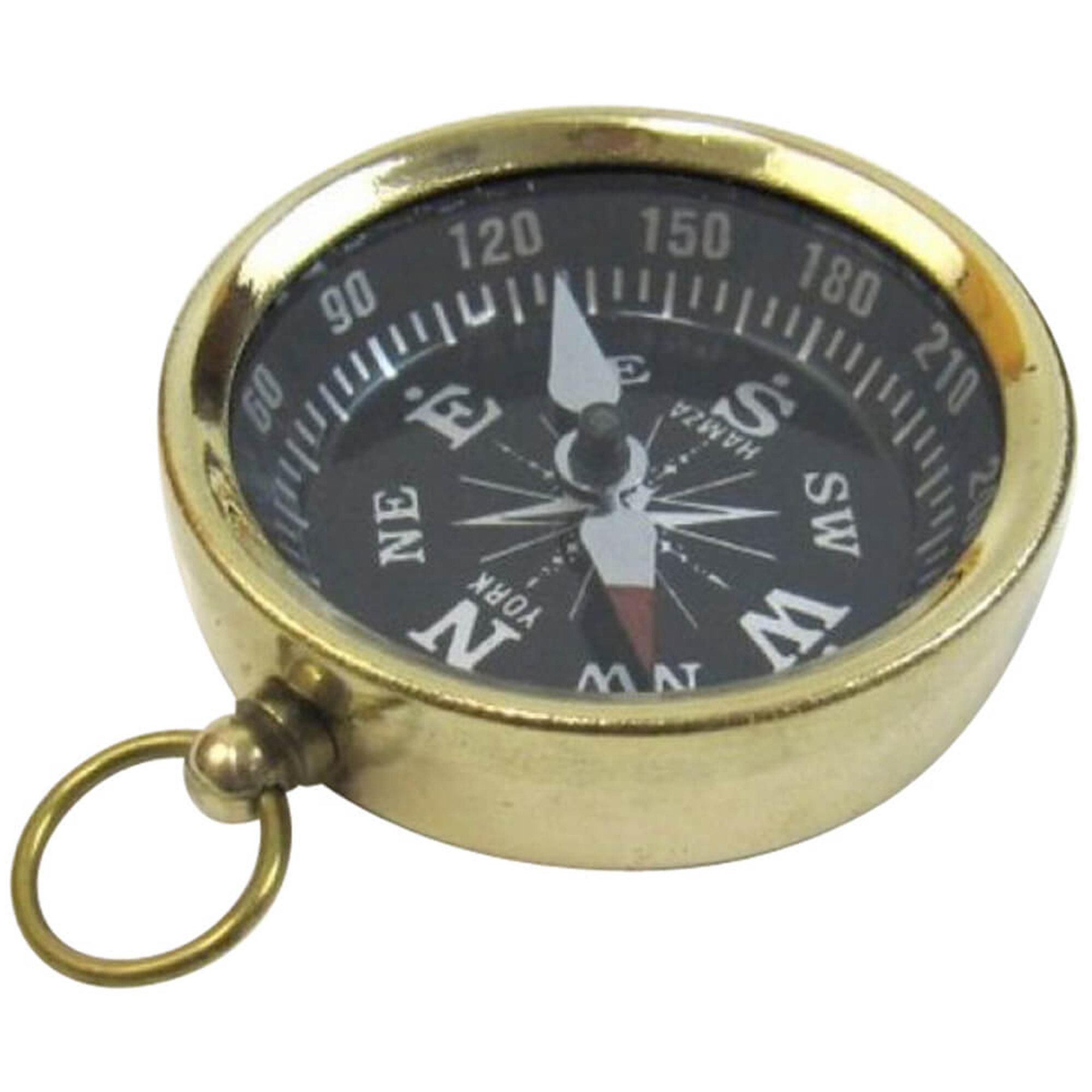 Breakwater Bay Mcgeorge Pocket Magnetic Compass Sculpture Wayfair