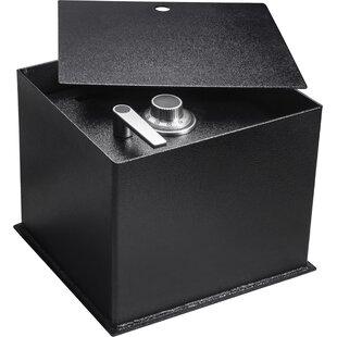 0.89 Cubic Ft Floor Safe Lock by Barska
