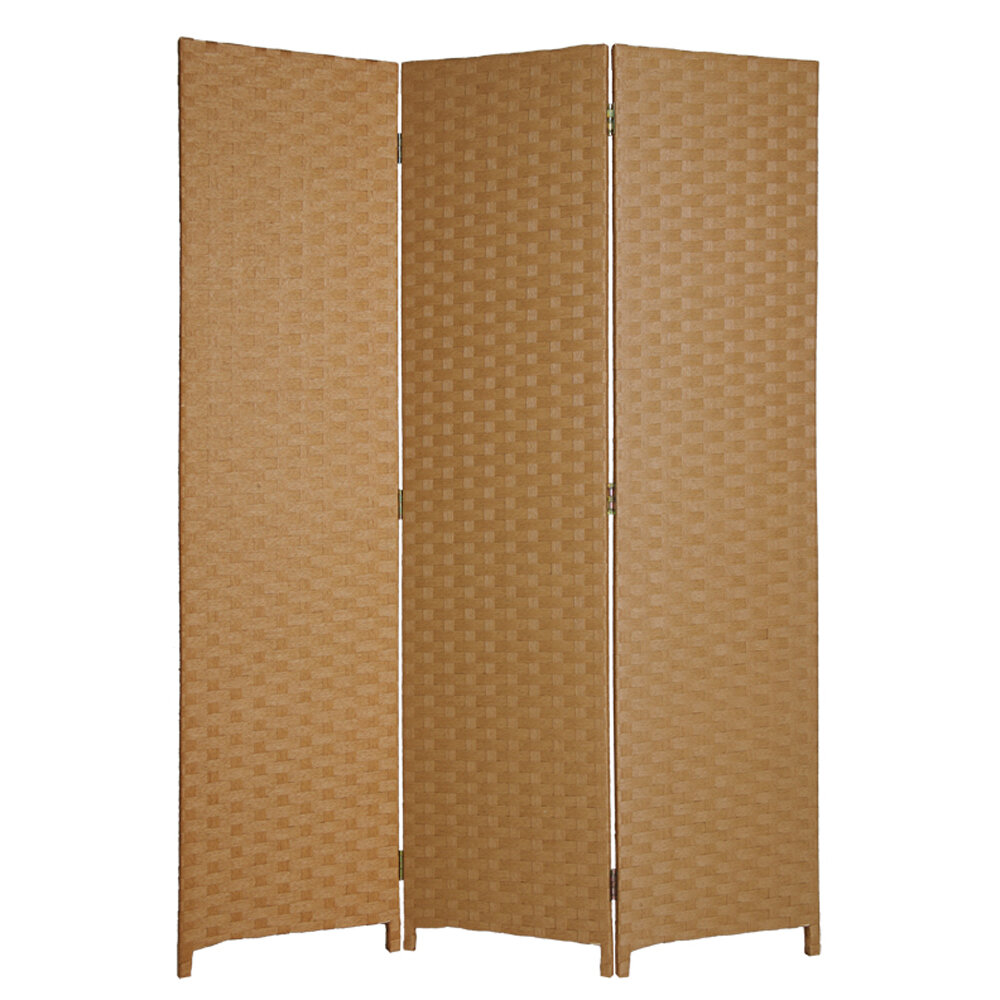 Darby Home Co Minster Wood 3 Panel Room Divider Wayfair