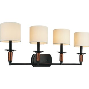 Compare Sia 4-Light Vanity light By CWI Lighting