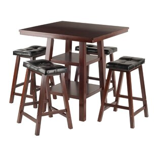 Red Barrel Studio Pratt Street 5 Piece Dining Set