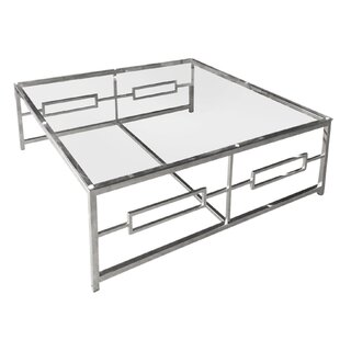 Drum Coffee Table with Tray Top