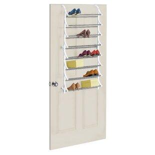 Purchase 24 Pair Overdoor Shoe Organizer By Rebrilliant