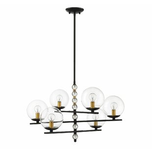 Ivy Bronx Hargraves 6-Light Shaded Chandelier