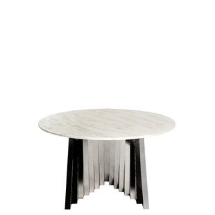 Everly Quinn Nailsworth Marble Dining Table