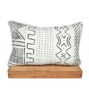 Craney Mud Cloth Cotton Pillow Cover by Bungalow Rose Wonderful