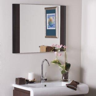 Orren Ellis Cheryl Frameless Wall Mirror