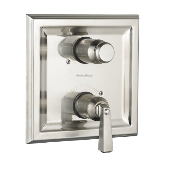 American Standard Town Square Two Handle Dual Shower Faucet Trim Kit ...