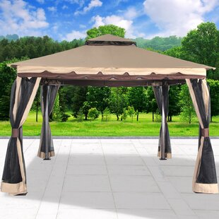 Cloud Mountain Inc. Garden 11 Ft. W x 11 Ft. D Steel Patio Gazebo