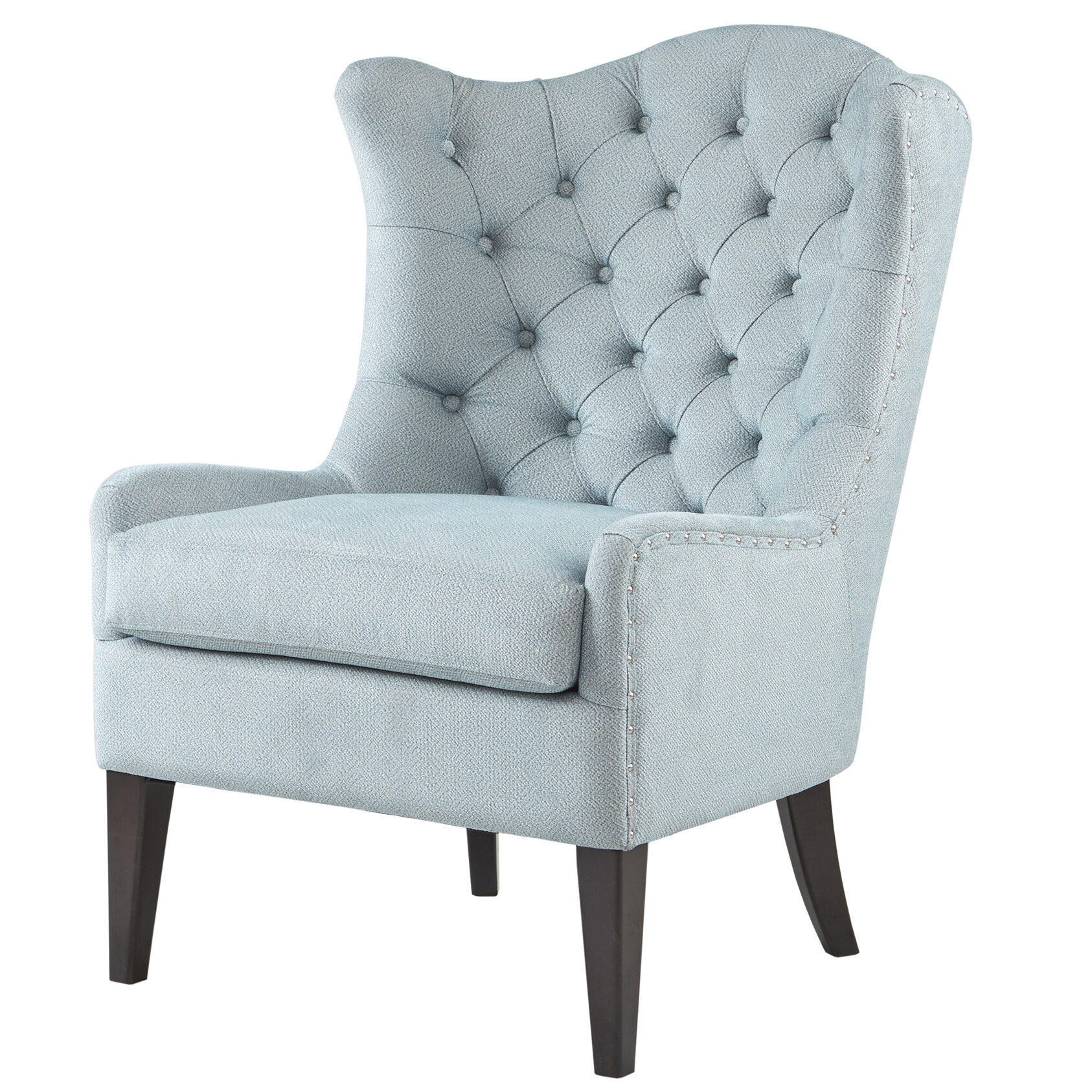Alcott Hill Van Houzen Wingback Chair & Reviews | Wayfair