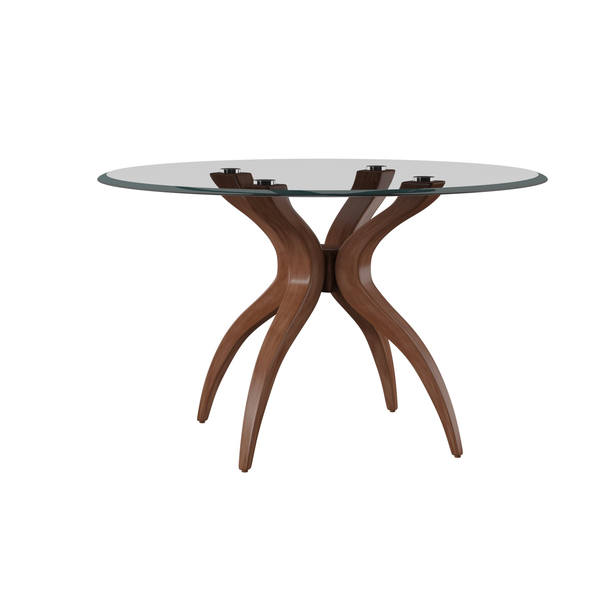 Glass Mid Century Modern Kitchen Dining Tables You Ll Love In 2020 Wayfair