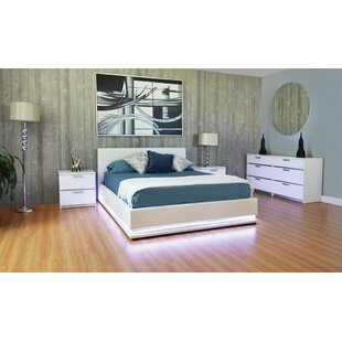 Mckeon Queen Storage Platform Configurable Bedroom Set