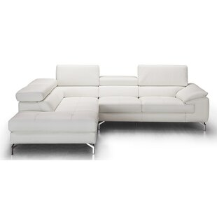 Excellent Chambersburg Leather Sectional Dailytribune Chair Design For Home Dailytribuneorg