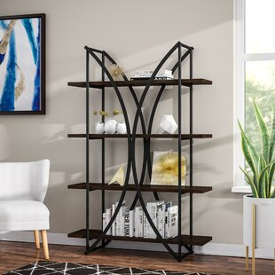 Harper Eliptical 4 Shelf Etagere Bookcase