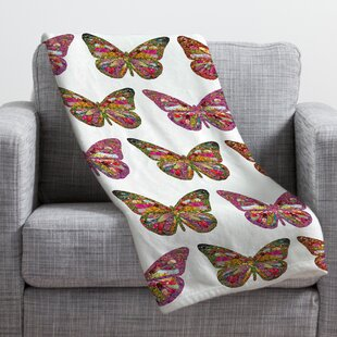 Butterfly Throw Wayfair