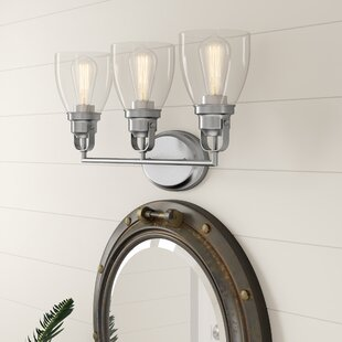 Durso Contemporary 3-Light Vanity Light by Breakwater Bay