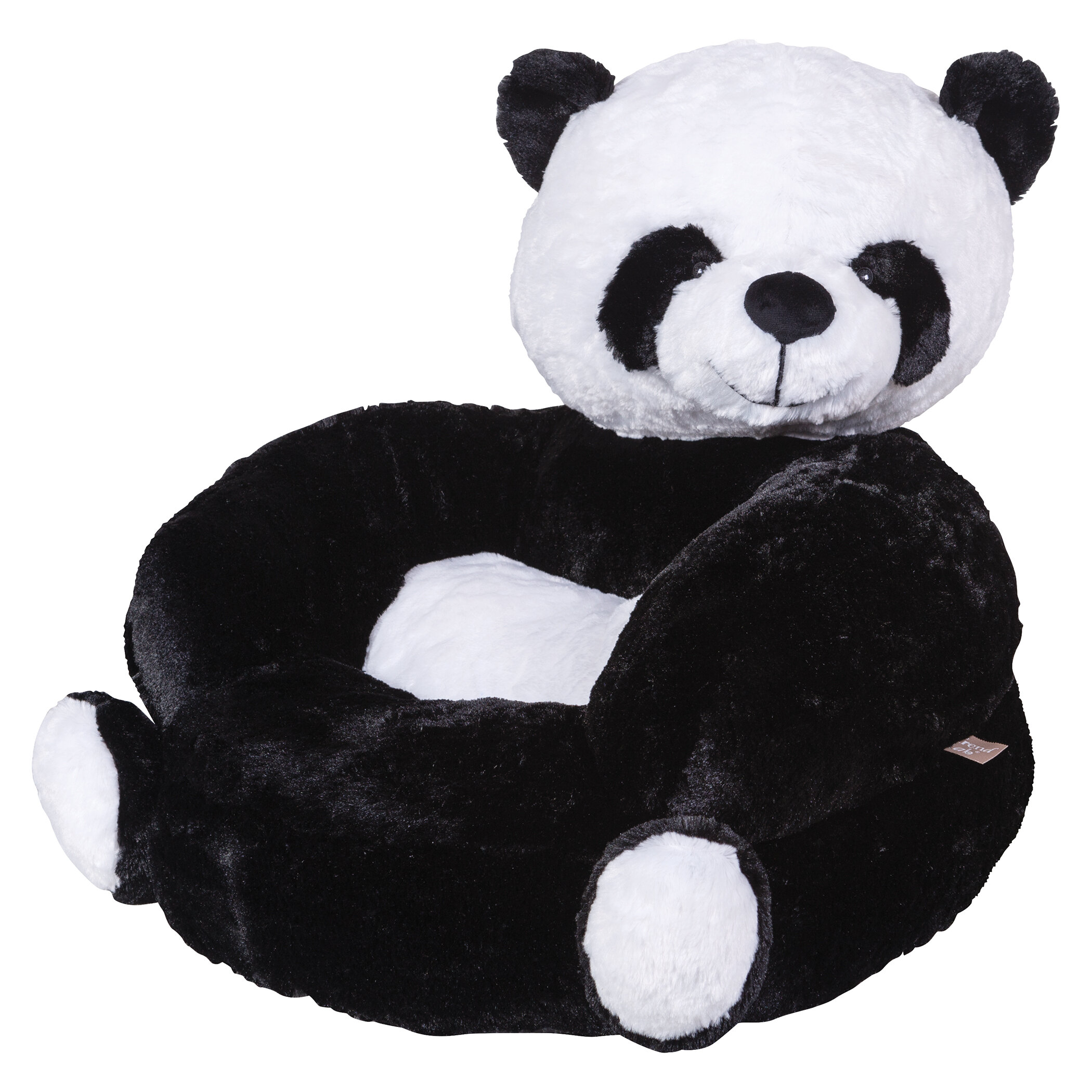 Marvelous Vandenberg Plush Panda Character Kids Faux Fur Chair Gmtry Best Dining Table And Chair Ideas Images Gmtryco