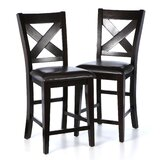 Carriage Hill 25 Bar Stool (Set of 2) by Red Barrel Studio®