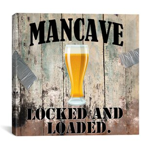 Mancave III by Mindy Sommers Vintage Advertisement on Canvas by iCanvas